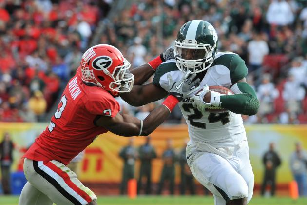 Michigan State's Le'Veon Bell Continues to Get Smarter, Faster