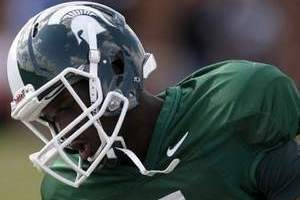 Michigan State Receiver DeAnthony Arnett Faces Tough Competition