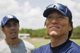Hideki Matsui Will Be in Uniform Tuesday Night for Tampa Bay Rays