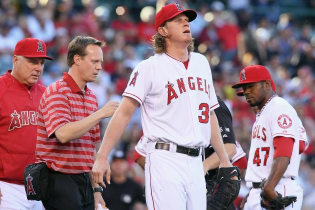 Why a Long-Term Jered Weaver Injury Would Destroy Angels' Playoff Resurgence