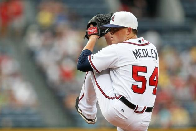 Atlanta Braves Demote Kris Medlen to Prepare Him for the Rotation
