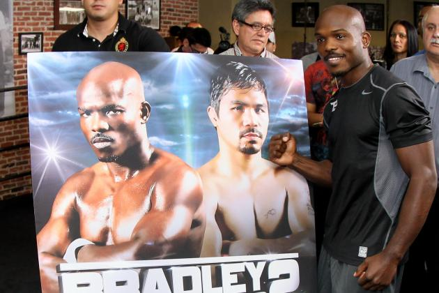 Pacquiao vs Bradley: Fake Rematch Poster Shows 'Desert Storm's' Confidence