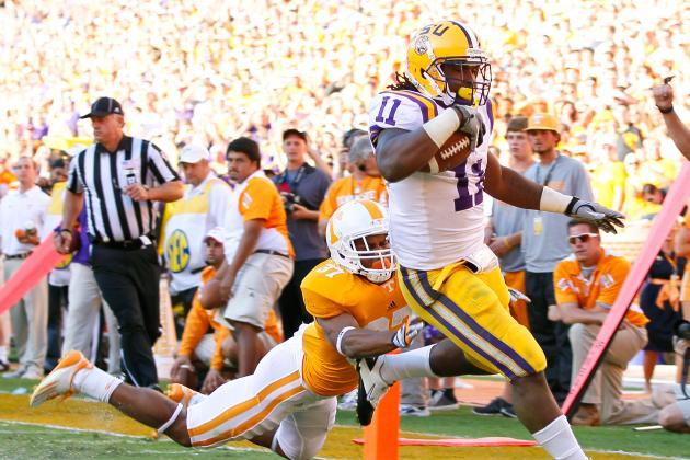 LSU Football: What You Need to Know About the Tigers' RB Depth