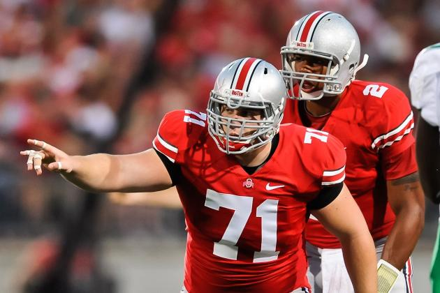Big Ten Football Top 150 Players: No. 119, Corey Linsley, Ohio State Center