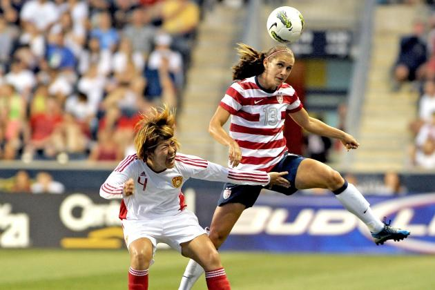 London 2012: Alex Morgan Will Lead US Women's Soccer Team to Gold Medal