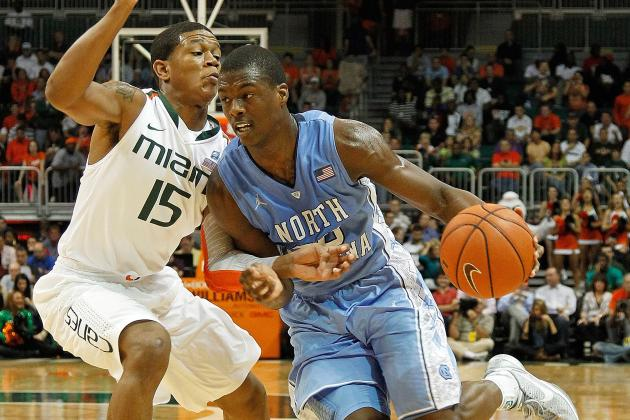 NBA Draft Lottery 2012: How Many UNC Prospects Will Land in Lottery If Odds Hold