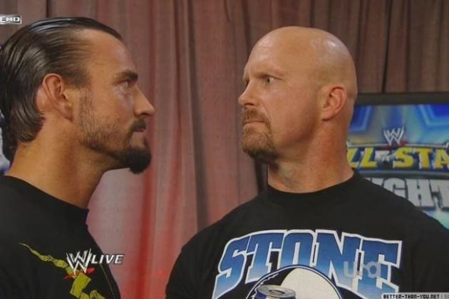 WWE: CM Punk vs. Steve Austin Would Draw More Money Than Rock vs. Cena