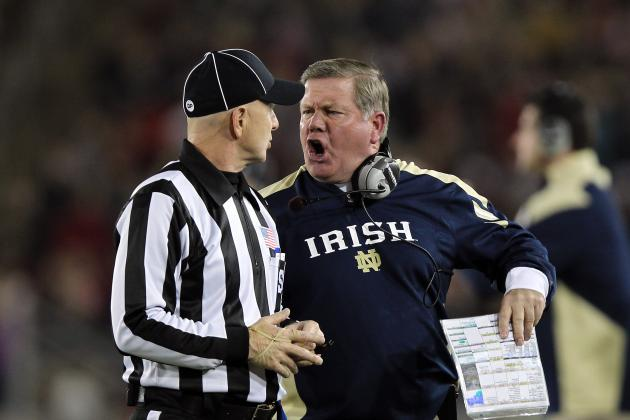 Notre Dame Football: Why Brian Kelly Must Continue to Coach Angry