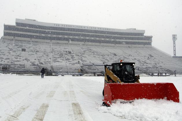 College Football Playoff: New Championship Game Must Be in a Good-Weather City