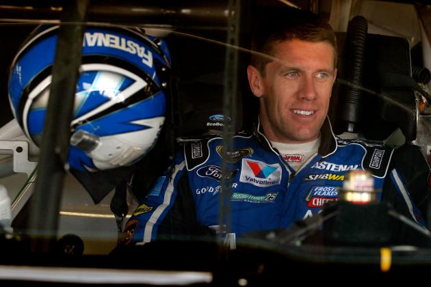 Carl Edwards' Uncanny Strategy