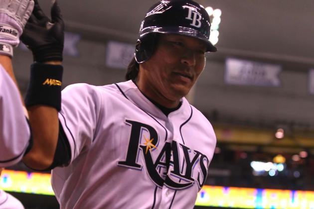 Hideki Matsui Made His Presence Felt in His Tampa Bay Rays Debut