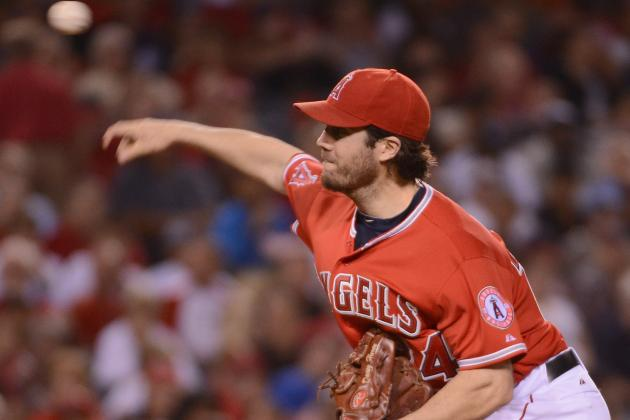 Dan Haren: Los Angeles Angels SP Earns AL Best of the Night Award