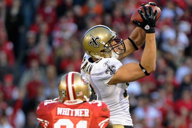 New Orleans Saints Position-by-Position Breakdown: Tight Ends