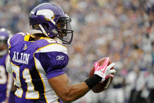 Report: Minnesota Vikings CB Asher Allen Retires; What It Means for 2012