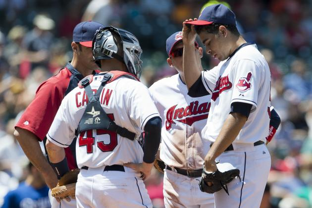 Tribe Can't Finish Strong in Rubber-Game Loss