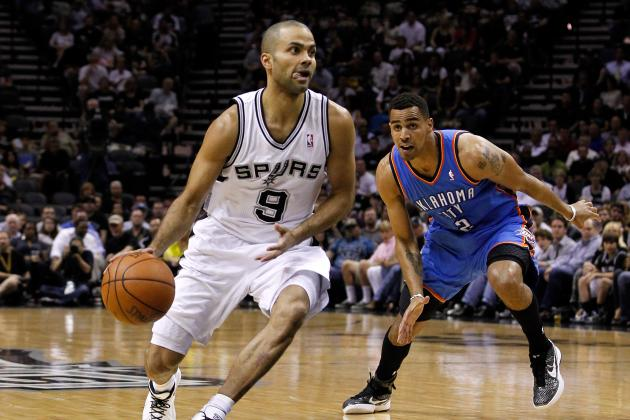 NBA Playoffs 2012: Tony Parker's Brilliance Will Push Spurs Past Thunder