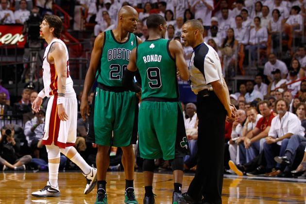 Rajon Rondo Fires Up Celtics, but Did His Words Also Fire Up the Heat?