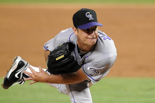 Colorado Rockies Designate Struggling Jamie Moyer for Assignment