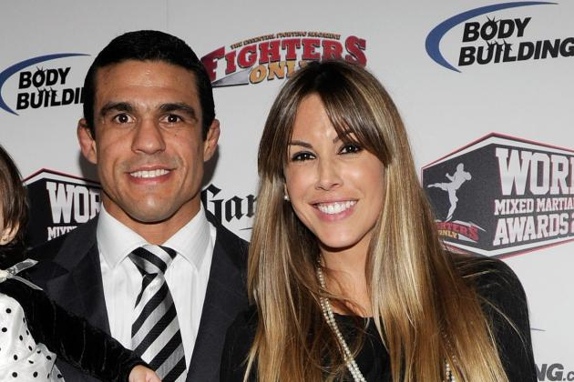 Vitor Belfort's Wife Predicts 'Chicken' Wanderlei Silva Gets KO'd in 19 Seconds