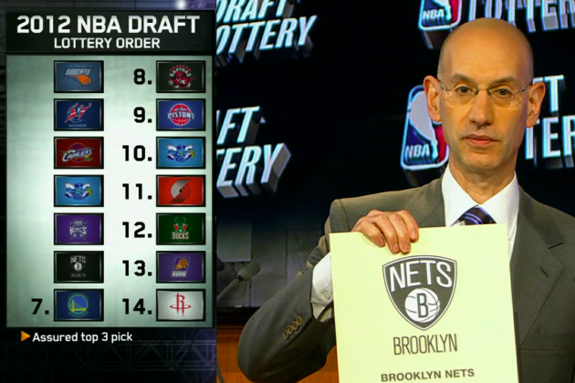 Brooklyn Nets Draft Lottery 2012: 6th Pick to Blazers, Not Nets