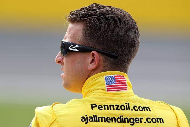 NASCAR Sprint Cup: Has Penske Set AJ Allmendinger Up to Fail?