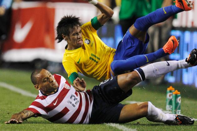 USA vs. Brazil: U.S. Men's Soccer Needs to Get Nastier (Also Better)