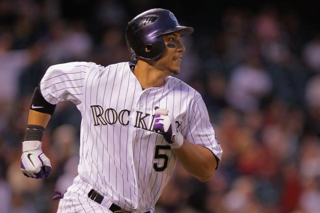 NL Best of the Night: Carlos Gonzalez Hits 3 Bombs as Rockies Demolish Astros