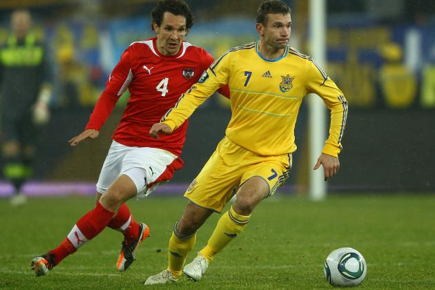 Euro 2012 Players to Watch: Andriy Shevchenko of Ukraine