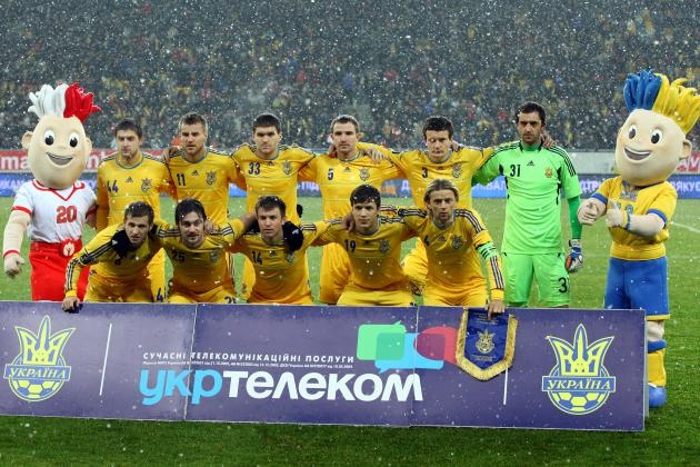 Ukraine Euro 2012 Roster: Analyzing Team's Starting 11 and More