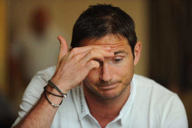 Breaking England News: Frank Lampard out of Euro 2012