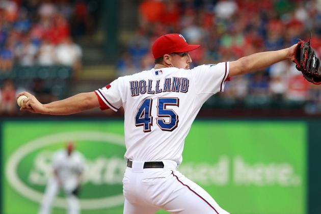 Derek Holland: Texas Rangers SP Earns AL Worst of the Night Award