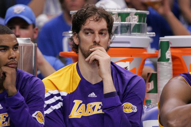 NBA Rumors: Los Angeles Lakers Must Move Pau Gasol to Improve Roster