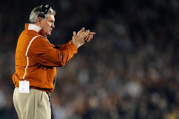 Texas Football: Why Longhorn Fans Should Be Concerned About 2012