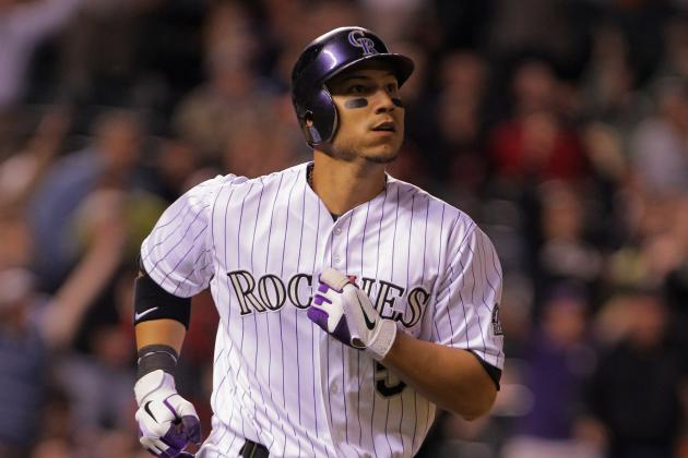 CarGo Launches Three-Run Home Run off Norris: Video