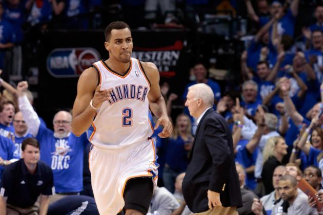 NBA Playoffs 2012: Tabooed Thabo Sefolosha Is the Thunder's MVP