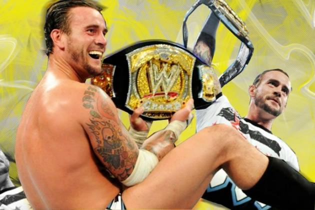CM Punk Deserves to Hold WWE Championship for Extended Period of Time