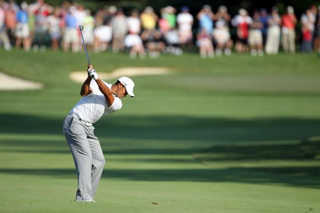 PGA Tour Memorial Round Recap: Phil Mickelson Withdraws, Tiger Woods in the Hunt