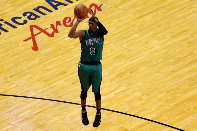 NBA Playoffs 2012: Is Boston Celtics' Rajon Rondo Becoming a Shooter?