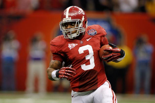 Trent Richardson: Rookie Projections for the Cleveland Browns Running Back