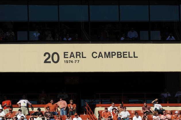 Top 10 NFL Running Backs of All Time Series: Number 10 Earl Campbell‏