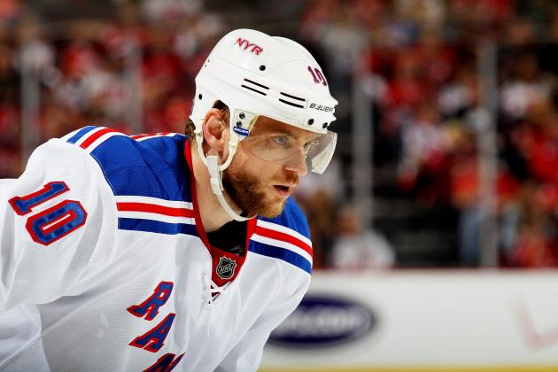 Rangers Star Marian Gaborik to Undergo Shoulder Surgery, Could Miss Six Months
