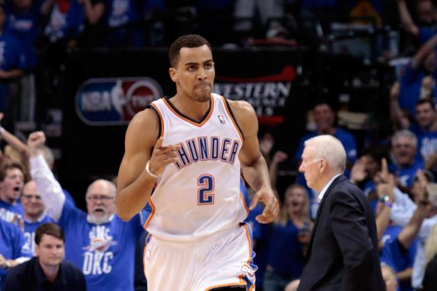 NBA Playoffs 2012: Why Thunder's Scoring Depth Is Key to Taking Down Spurs