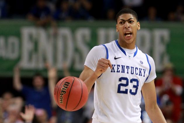 NBA Mock Draft 2012: Where Hot Prospects Will Go Once Hornets Snag Anthony Davis