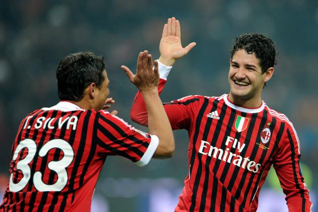 Paris Saint-Germain Chasing AC Milan's Brazilian Duo Pato and Silva