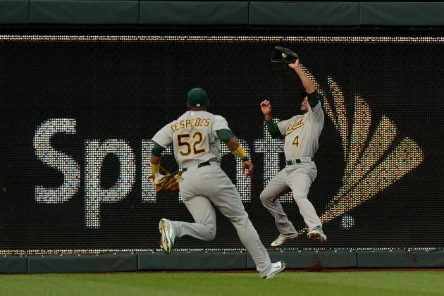 Yoenis Cespedes Returns to Oakland A's Lineup, Can't Prevent Shutout