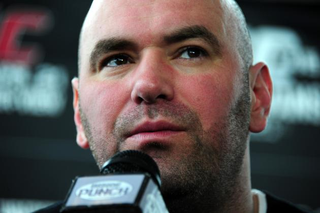 The Ultimate Fighter 15 Finale: Dana White Blasts Steve Mazzagatti on Twitter