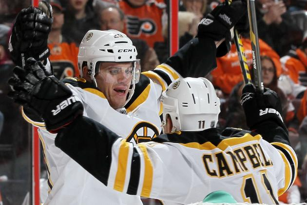 Boston Bruins Re-Sign Daniel Paille: Is Gregory Campbell Next?