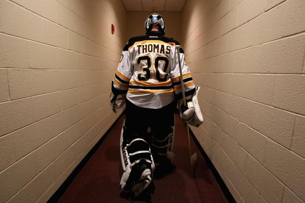 Tim Thomas' Situation Presents Tough Choice for Potential Trade Partners