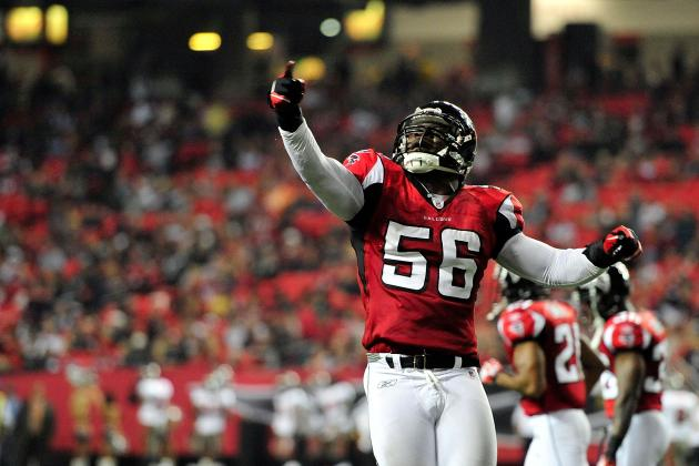 2012 Atlanta Falcons: LB Sean Weatherspoon Is the Next Cornelius Bennett