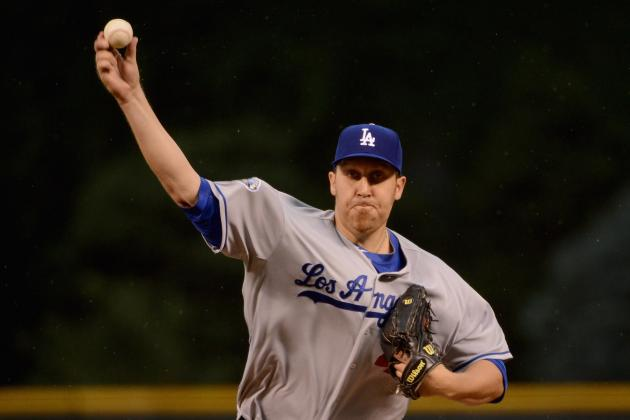 Aaron Harang Answers the Bell and Stops the Bleeding for the Los Angeles Dodgers